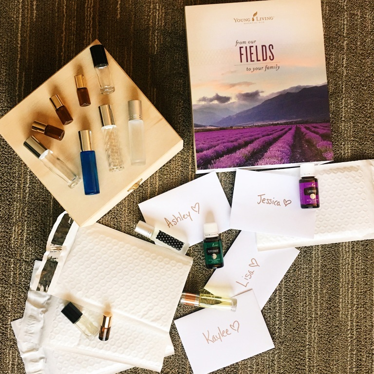 Snail Mail Young Living Oils