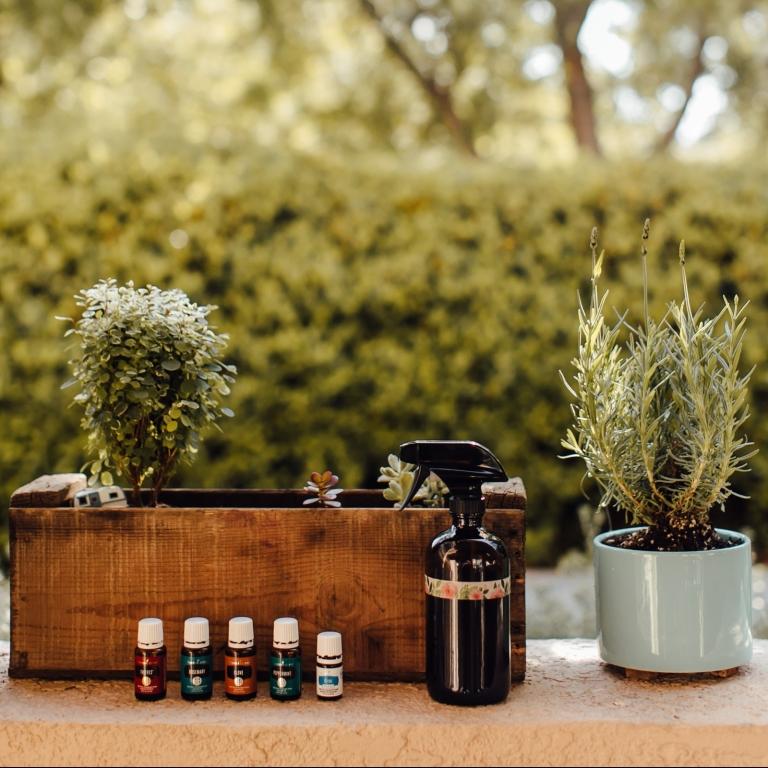 Gardening with Essentail Oils TMinspired 1000k-1